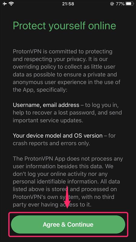 【iOS編】ProtonVPNのiPhone,iPadなどiOS端末での設定からアプリの使い方まで日本語で解説