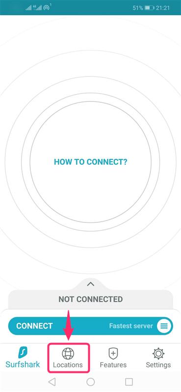 【Android編】Surfshark VPNのアンドロイド端末での設定からアプリの使い方まで日本語で解説
